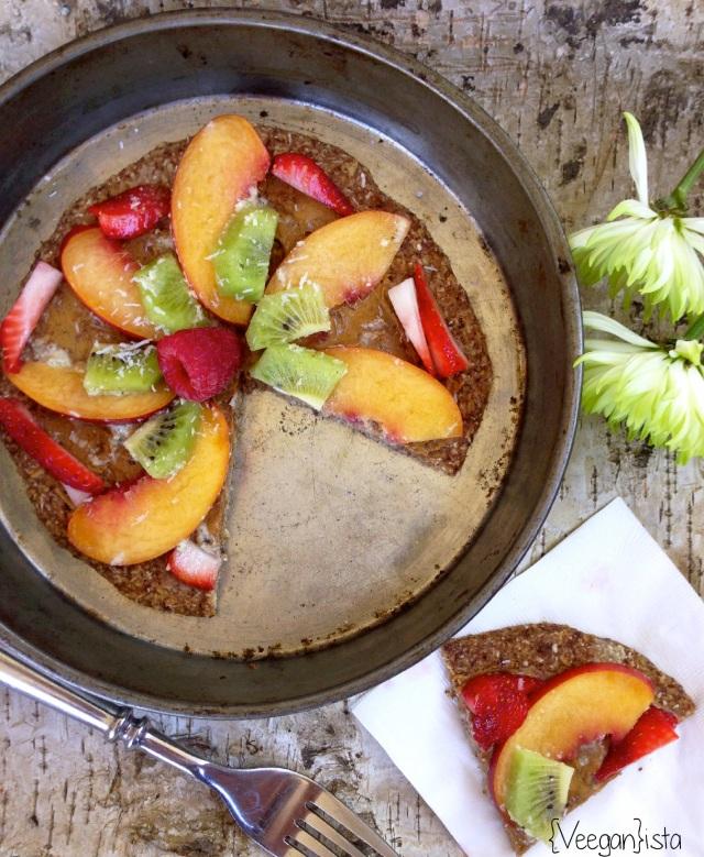 Breakfast Fruity Pizza