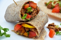 Easy Lentil Burritos